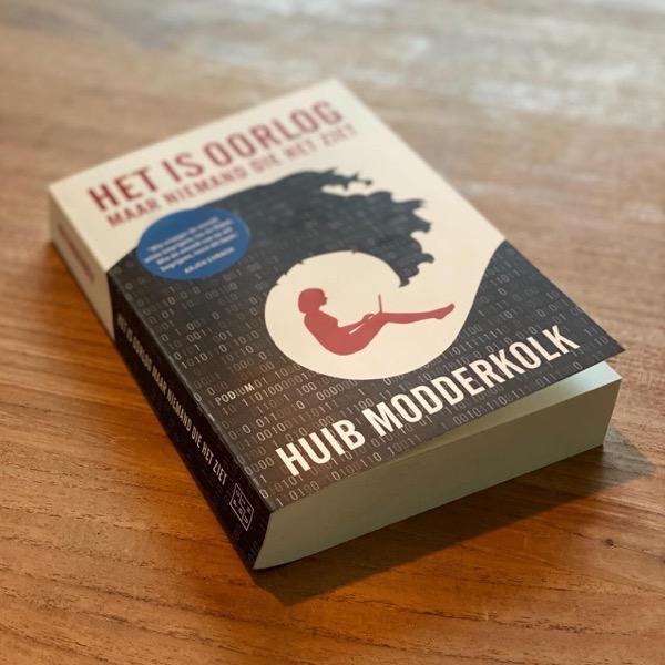 Foto van het boek van Huib Modderkolk
