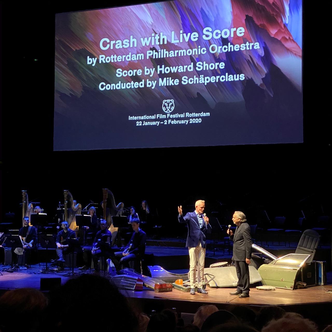 Crash cronenberg live score rotterdam philharmonic